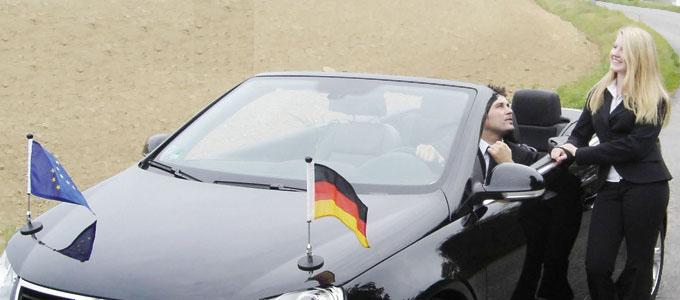 diplomat auto flag