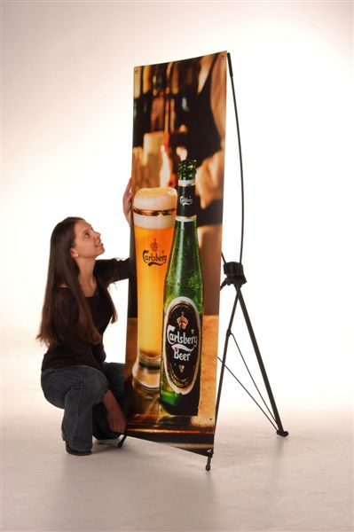 banner stand big
