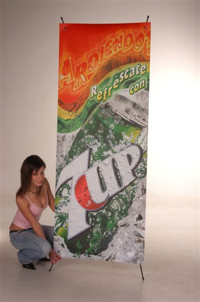 banner stand X